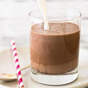 شیر کاکائو بدنسازی