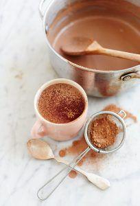 طرز تهیه شیر کاکائو خانگی