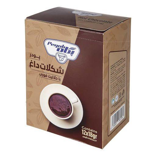 پودر شکلات داغ با حلالیت فوری پگاه